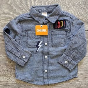 NWT Gymboree Baby Button Down Long-Sleeve